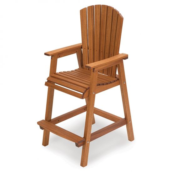 Bar Height Adirondack Chair and Stainless Steel Hardware Packs