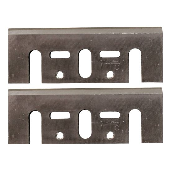 Makita D-46230 3-1/4'' High-Speed Steel Planer Blade Set