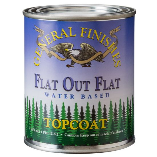 General Finishes Flat-Out Flat Water-Based Top Coat