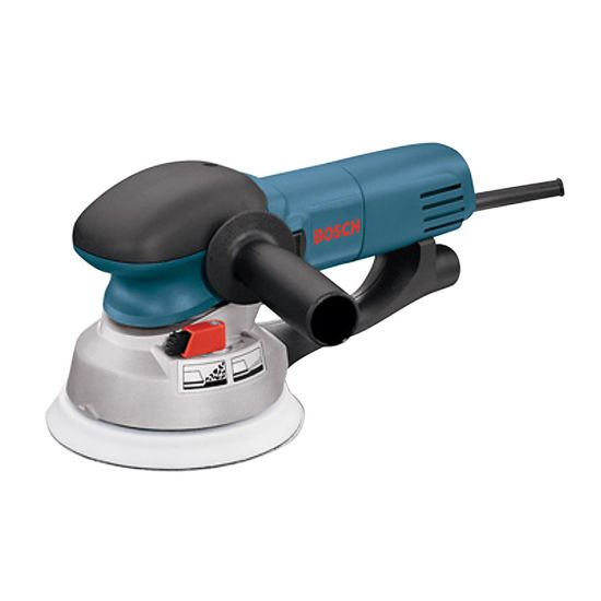 Bosch 1250DEVS 6'' Dual-Mode Electronic Random Orbit Sander/Polisher