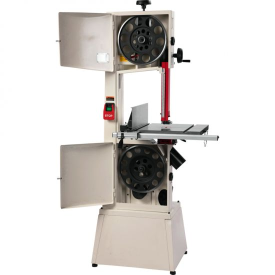 With all the premium features of a higher end saw, but at an affordable price point, the Jet 14'' SFX Steel Frame Bandsaw provides superior performance on nearly any project.