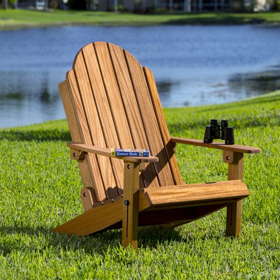 All the comfort and contentment of the classic Adirondack chair, with the convenience of a folding design!