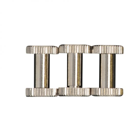 Sometimes called a barrel bolt, or post and screw, the Chicago screw is a two-part threaded fastener that's used to secure panels together, or to attach a handle to a soft or rigid surface.