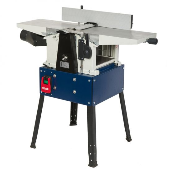 10 In. planer / jointer #25-010 is the smallest size combination machine, but offer big power and versatility that small to medium sized shops can enjoy.