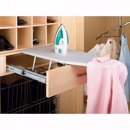 """16"""" Fold Out Ironing Board, Chrome, Wire (CIB-16CR)"""