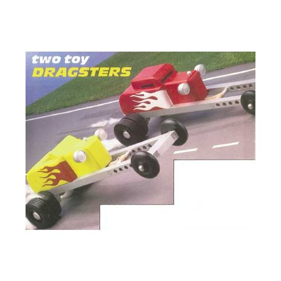 Two Toy Dragsters Downloadable Plan
