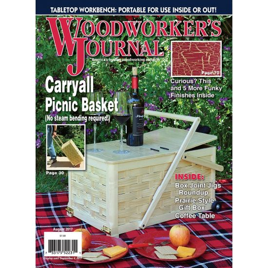 Woodworker's Journal – July/August 2017