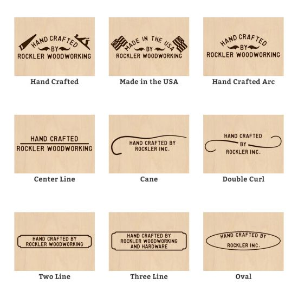 Custom Branding Iron - 15 Styles Available!