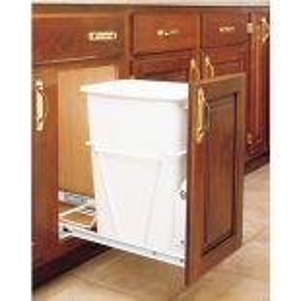 Rev-a-Shelf Vanity Waste Container RV-14PBS