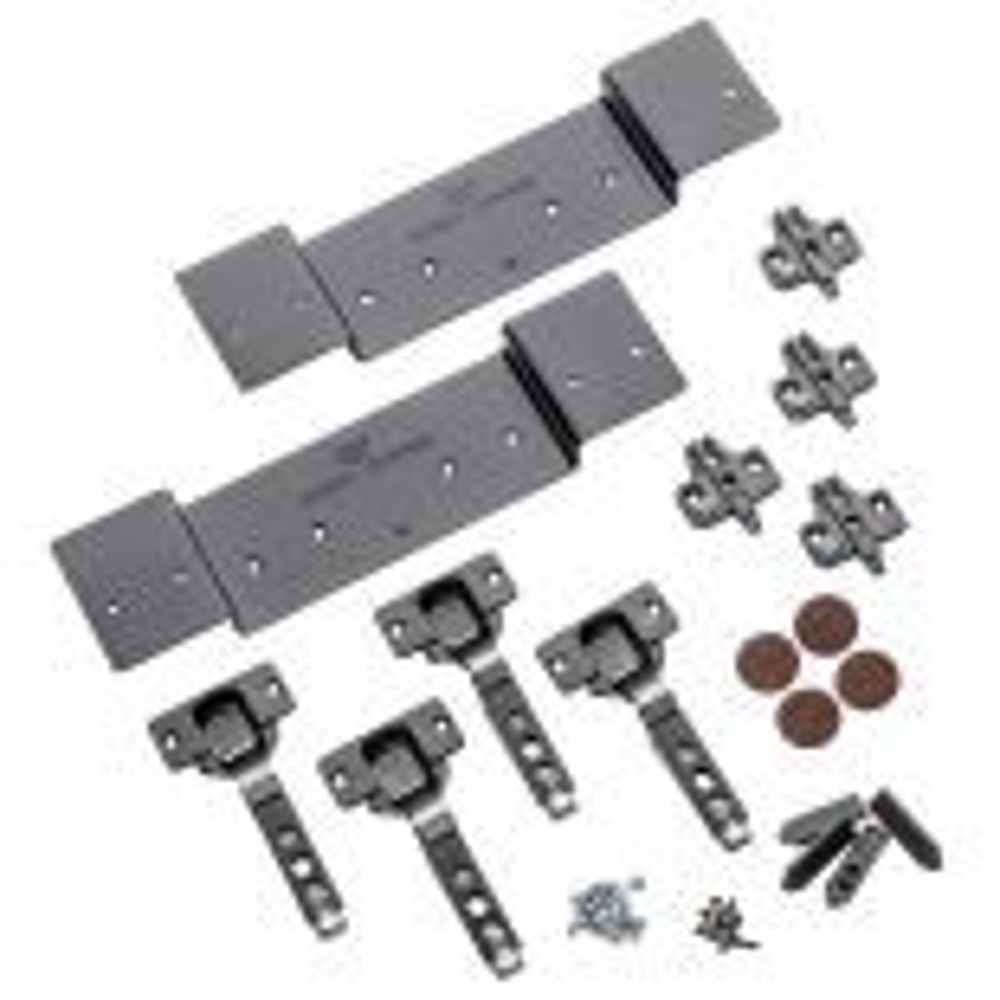 Full Overlay Hinge Kit for KV8091 Pocket Flipper Door Slides