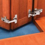 Salice Face Frame Self-Closing Pie-Corner Cabinet Hinge Kit