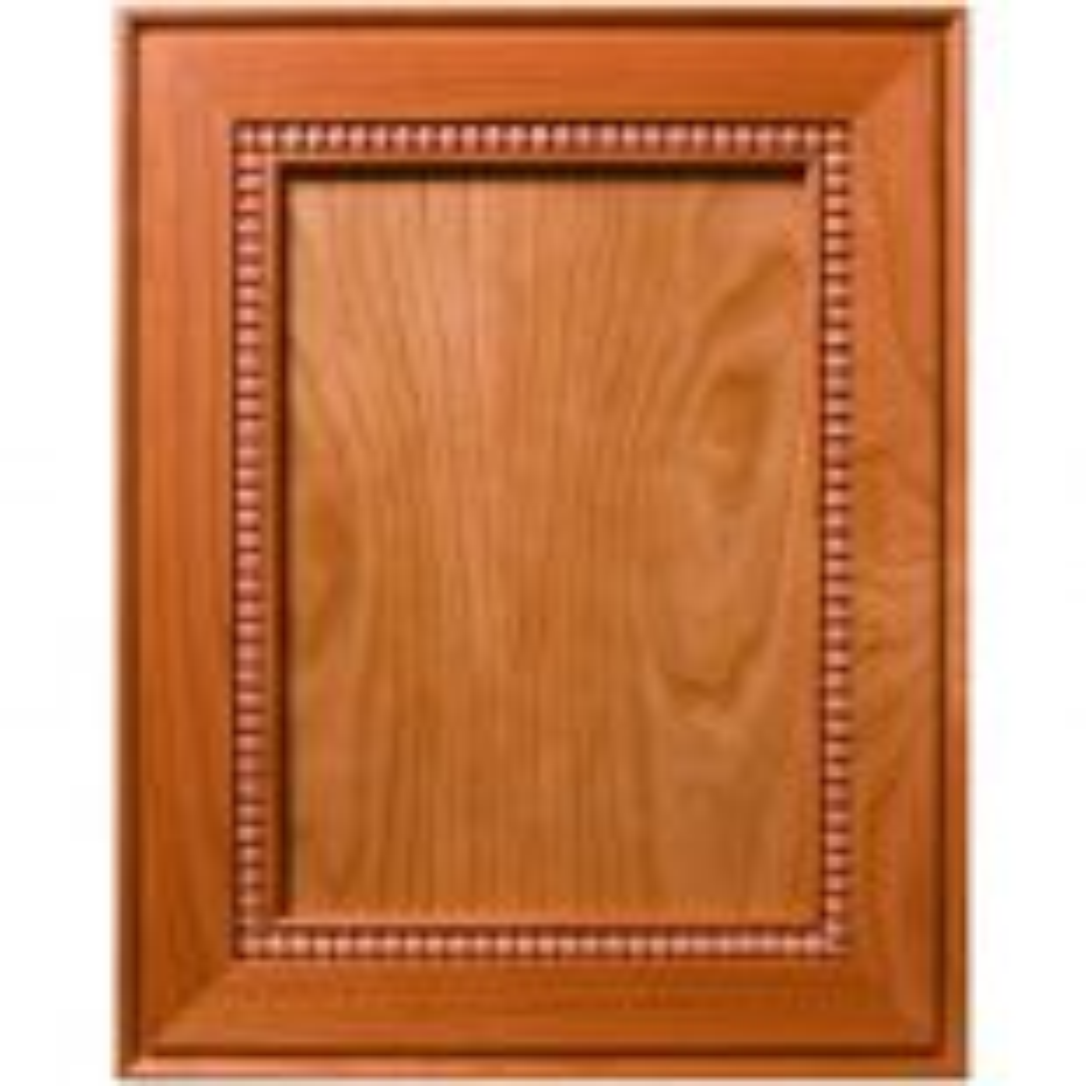 Fairway Inlaid Bead Decorative Flat Panel Cabinet Door