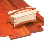 Padauk lumber is an excellent hardwood for cabinetry and fine furniture.