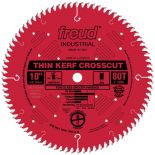 "10"" x 80T Freud Industrial Thin Kerf Ultimate Cut-Off Blade (LU74R010)"