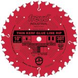 "Freud® 10"" x 30T Industrial Thin Kerf Glue Line Rip Saw Blade - LM75R010"