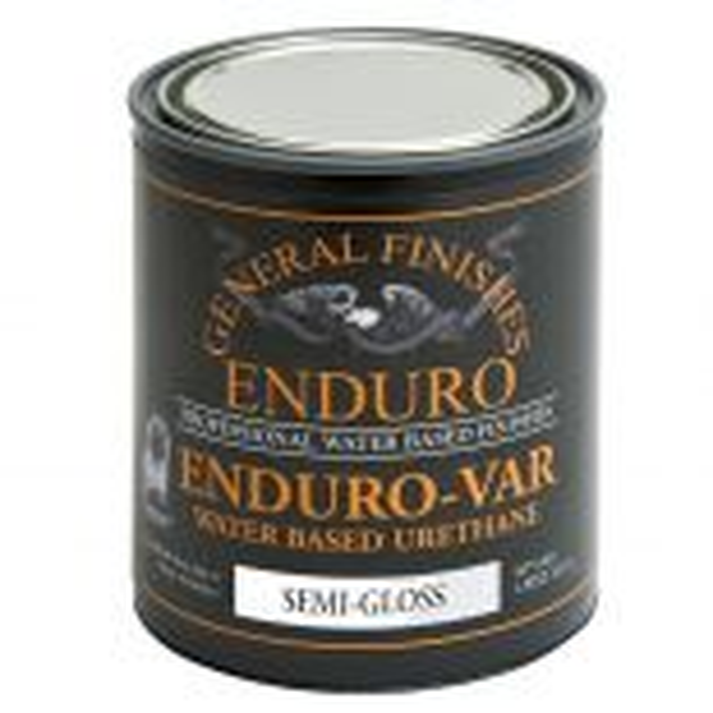 General Finishes Enduro-Var Water Based Urethane Top Coast Semi-Gloss