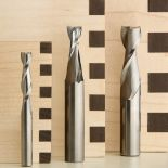 """3-Piece Spiral Upcut Bit Set (Includes 1/4"""", 3/8"""" and 1/2"""" HSS Spiral Mortising Bits)"""