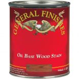 General Finish Wood Stain comes in many exciting color choices