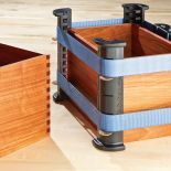 Penny slots support Band Clamps (sold separately) at varying heights