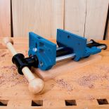 Clamp up your project quickly and easily with this rugged vise.