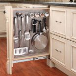 Store essential utensils next to pots and pans!