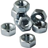 Zinc Coated Hex Nuts