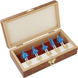 Rockler 5-Piece CNC Router Bit Set