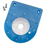 Compact Router Insert Plate Kit for Convertible Benchtop Router Table