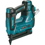 Drives 18 gauge brad nails ranging from 5/8'' to 2'' long—cordless for portability and ease of operation.