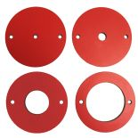 Phenolic Insert Rings for SawStop Router Lift, 4-Piece Set