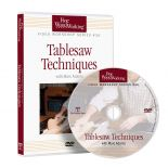 Tablesaw Techniques, DVD
