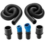 Dust Right® Universal Small Port Hose Kit with Auxiliary Hose