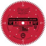 10'' x 80T Freud Industrial Thin Kerf Ultimate Plywood & Melamine Blade (LU79R010)