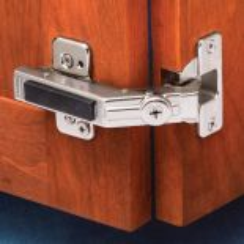 Blum 60 degree bifold hinge for corner cabinet applications