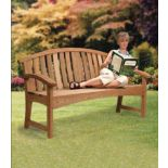 Hoopback Garden Bench Downloadable Plan