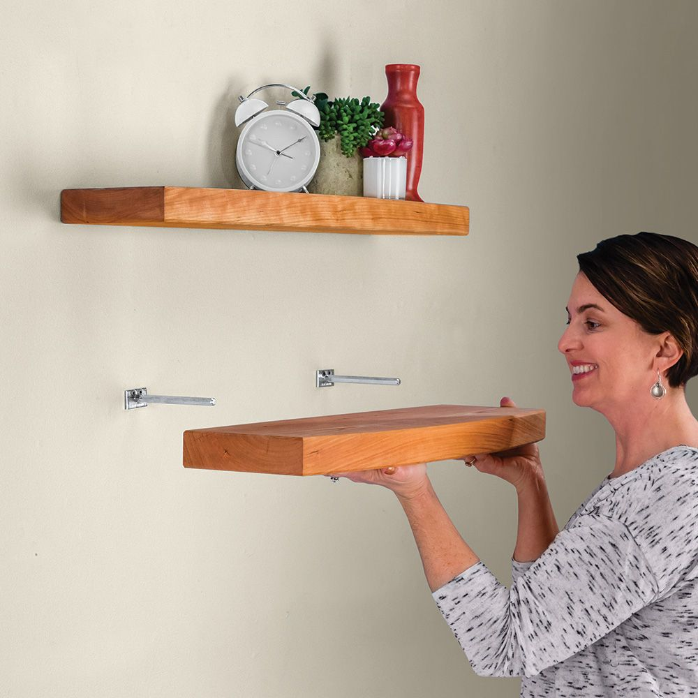How to make wood shelf supports