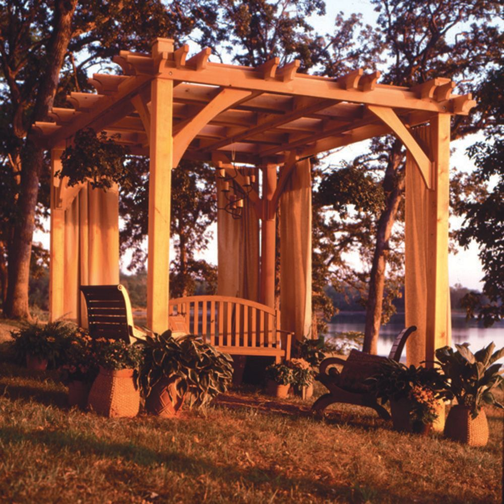 Pergola Designs And Materials: Rockler Woodworking And Hardware