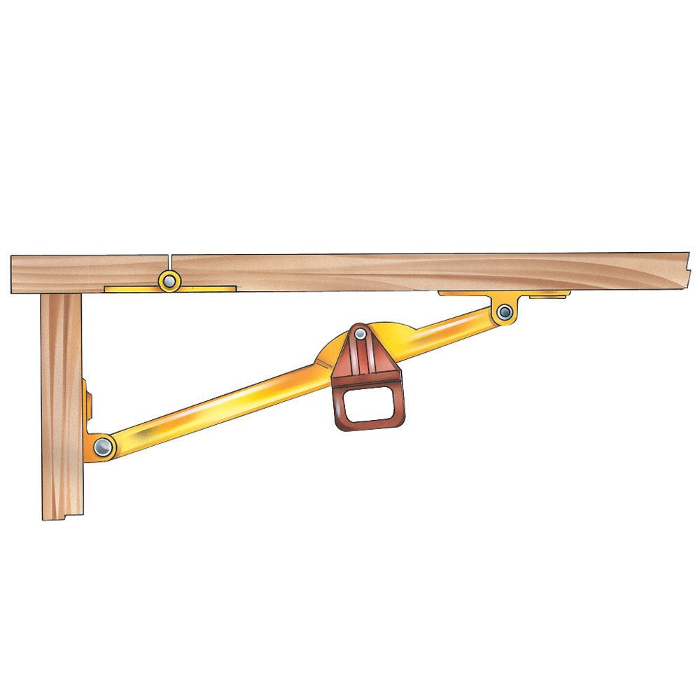 Drop Leaf Support Select Size Rockler Woodworking And