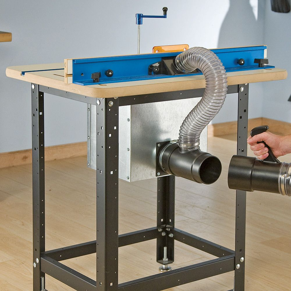 Dust Bucket Dust Collection For Router Tables Rockler