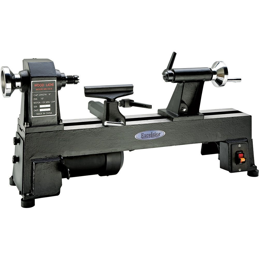 Excelsior 5 Speed Mini Lathe Mc 1018 Rockler Woodworking And Hardware