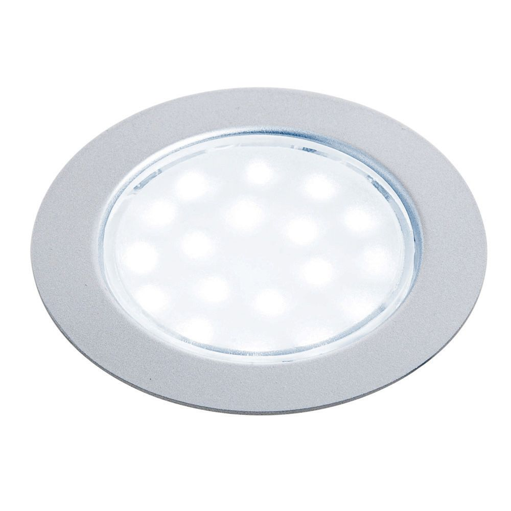 Hafele Recessed LED Puck Lights, Round-Recessed LED Puck