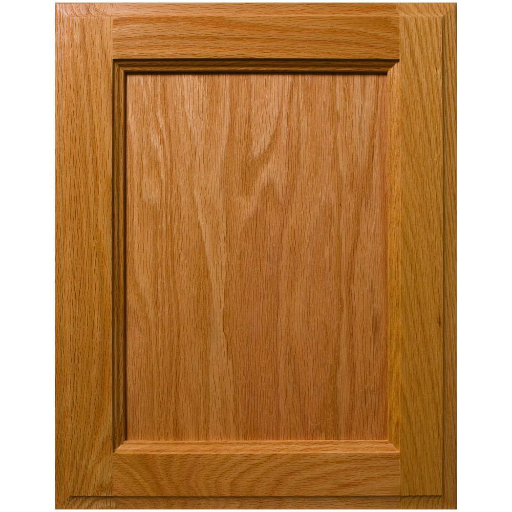 Custom Adobe Contemporary Style Flat Panel Cabinet Door