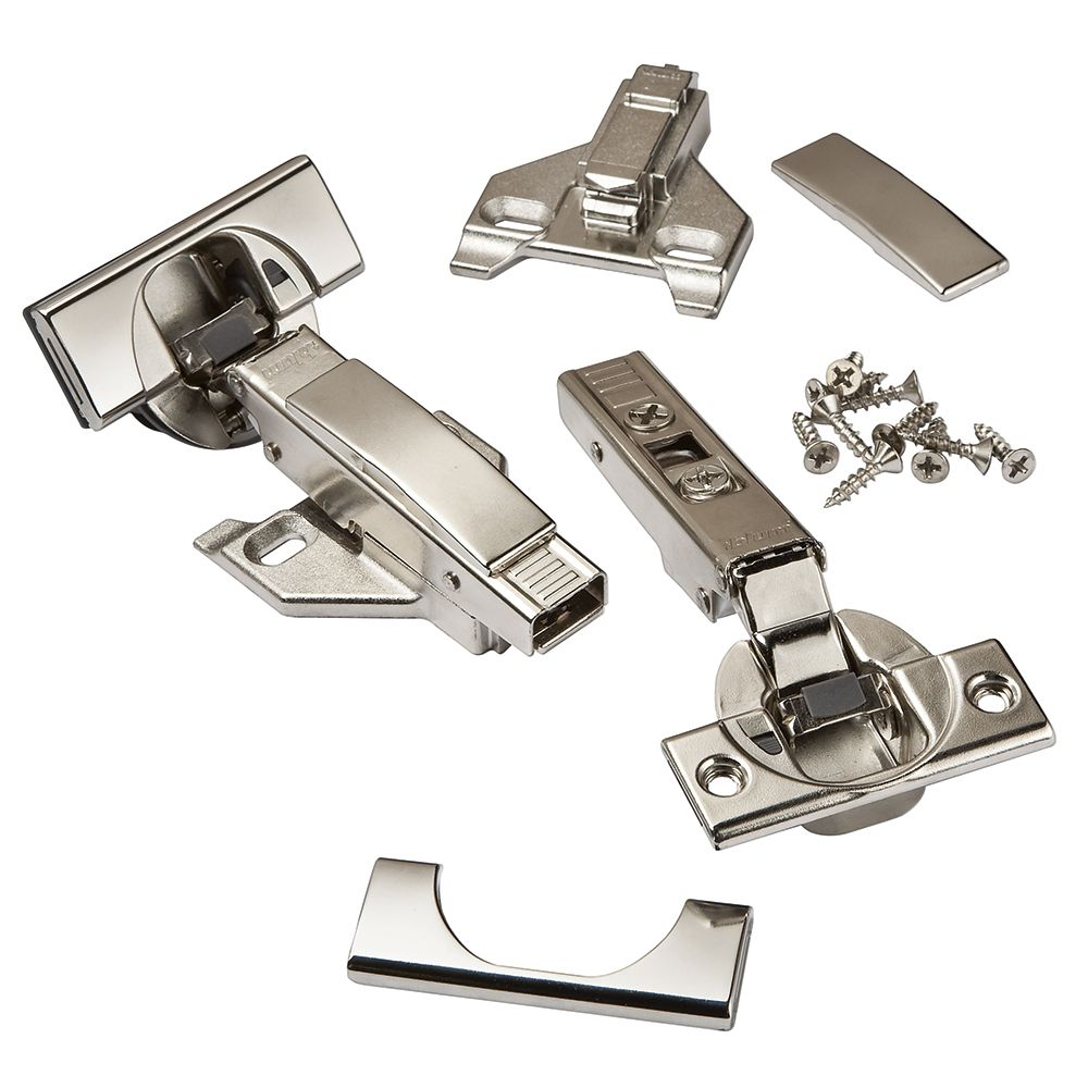 Blum® 110° Soft-Close BLUMotion Overlay Clip Top Hinges for Face Frame Cabinets
