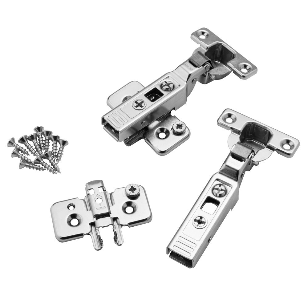 Mini Blum 174 26mm 90 176 Clip On Frameless Overlay Hinges