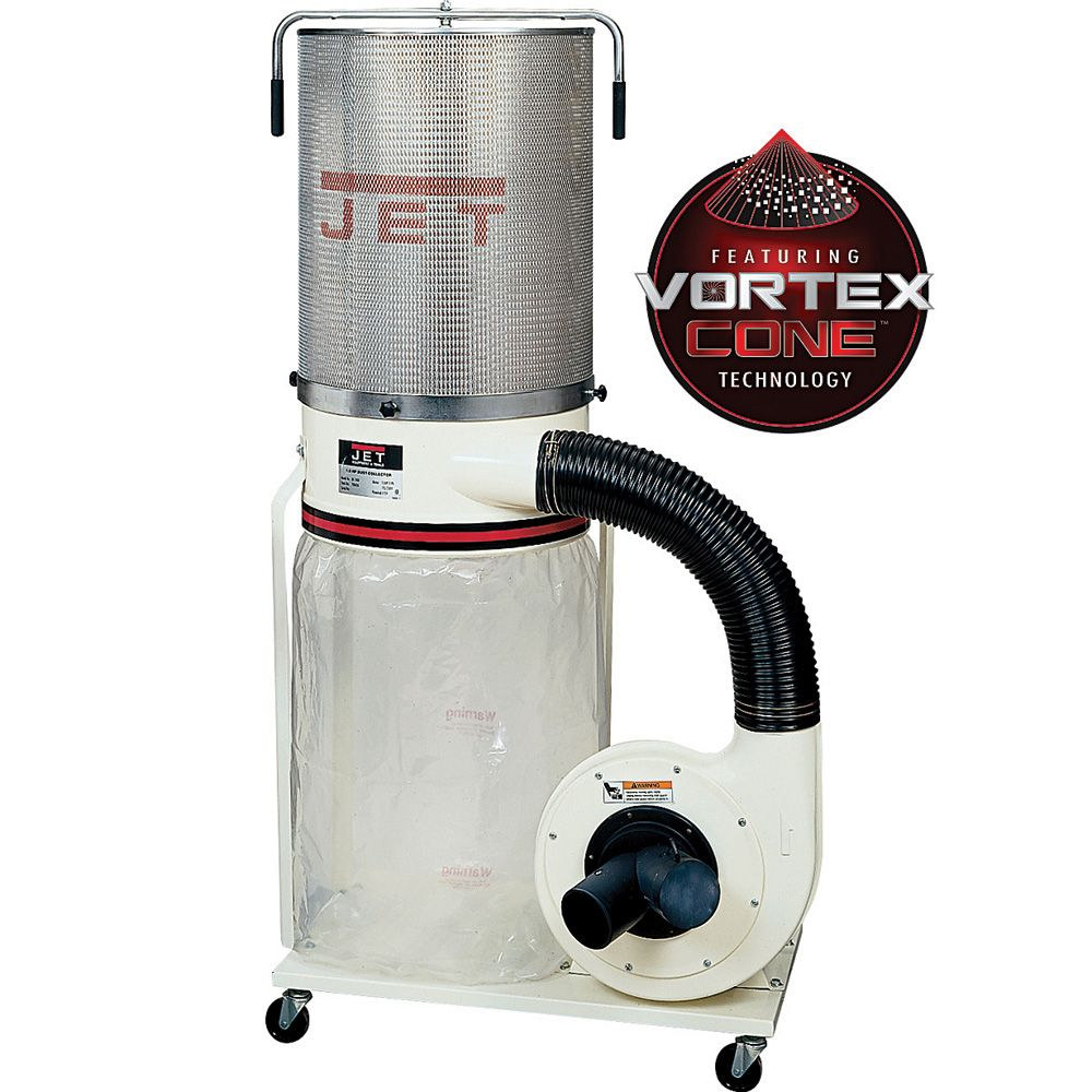 Jet Vortex Dust Collector 1 5hp W Canister Filter Dc 1100vx Ck