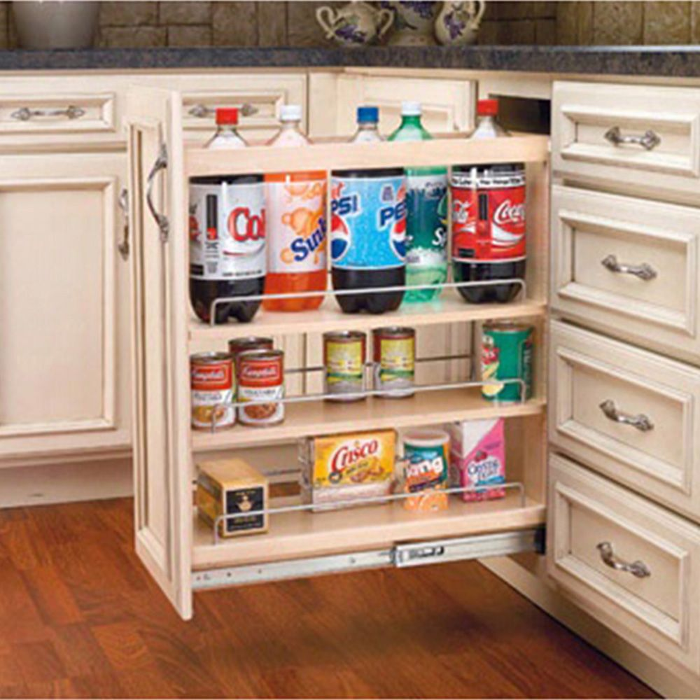 Base Cabinet Pullout Organizers Rev A Shelf 448 Series