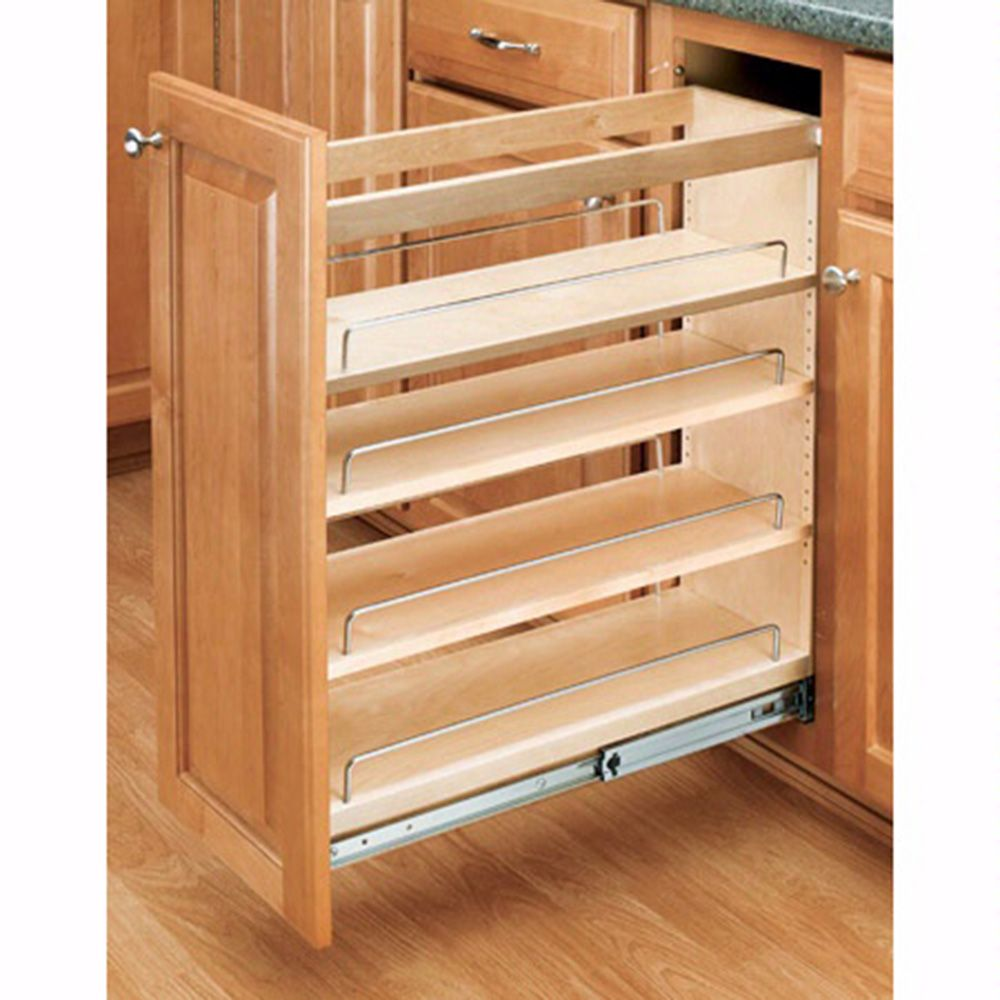 Base Cabinet Pullout Organizers Rev A Shelf 448 Series Tap To Expand
