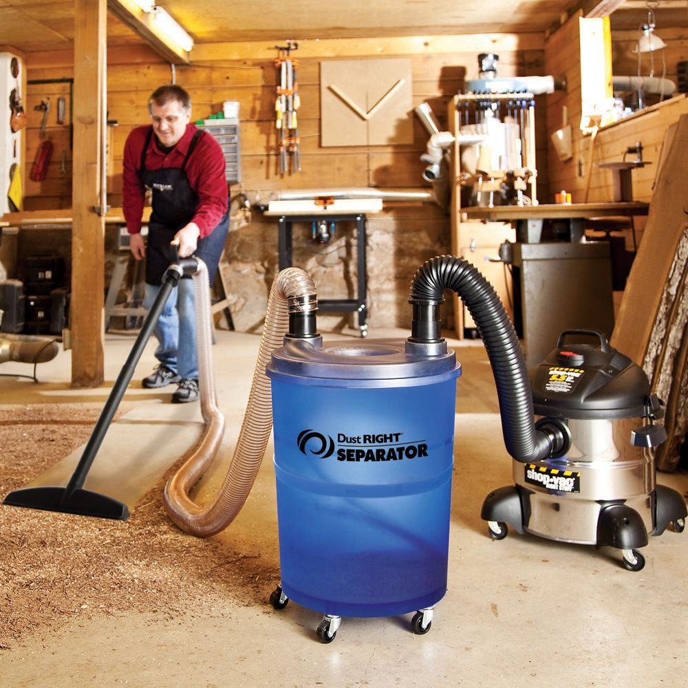 Dust Right 174 Separator Rockler Woodworking And Hardware