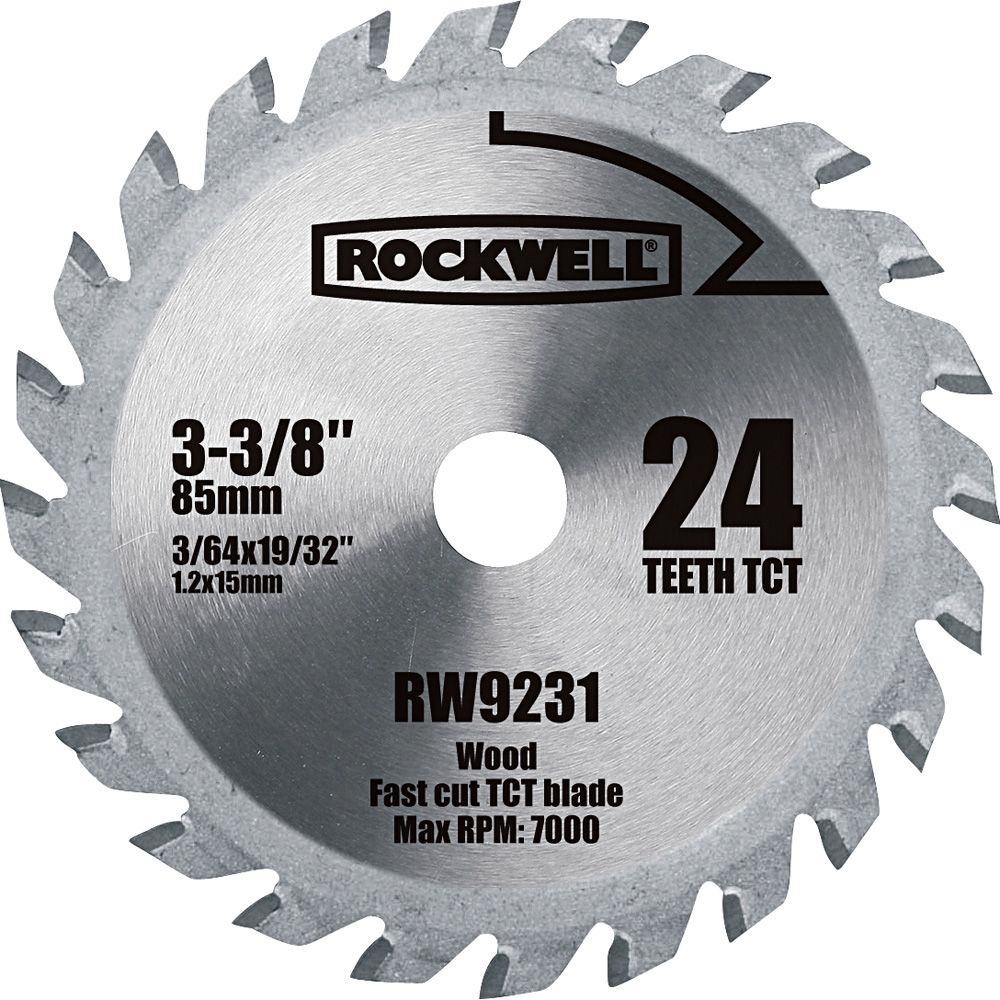 Rockwell Versacut 3 3 8 Carbide Tipped Circular Saw