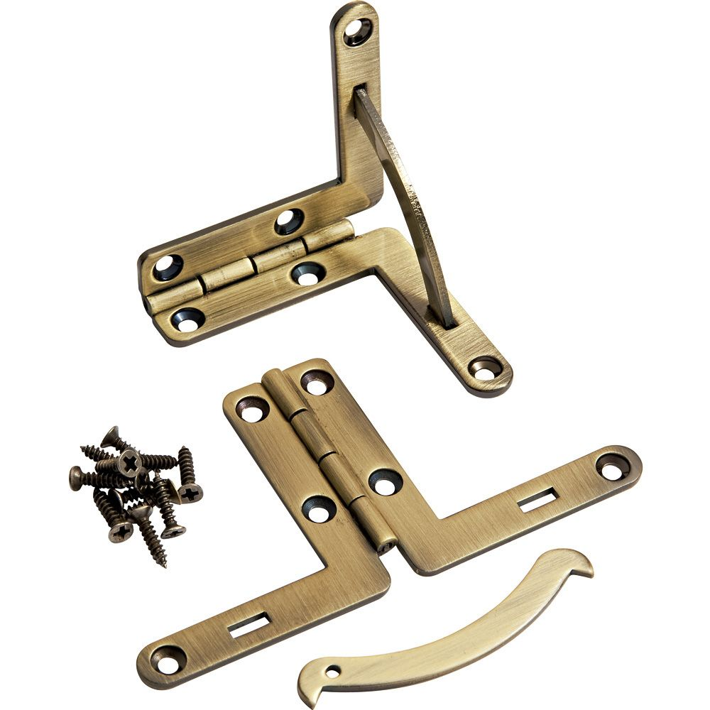 Solid Brass Quadrant Hinges Pair Rockler Woodworking